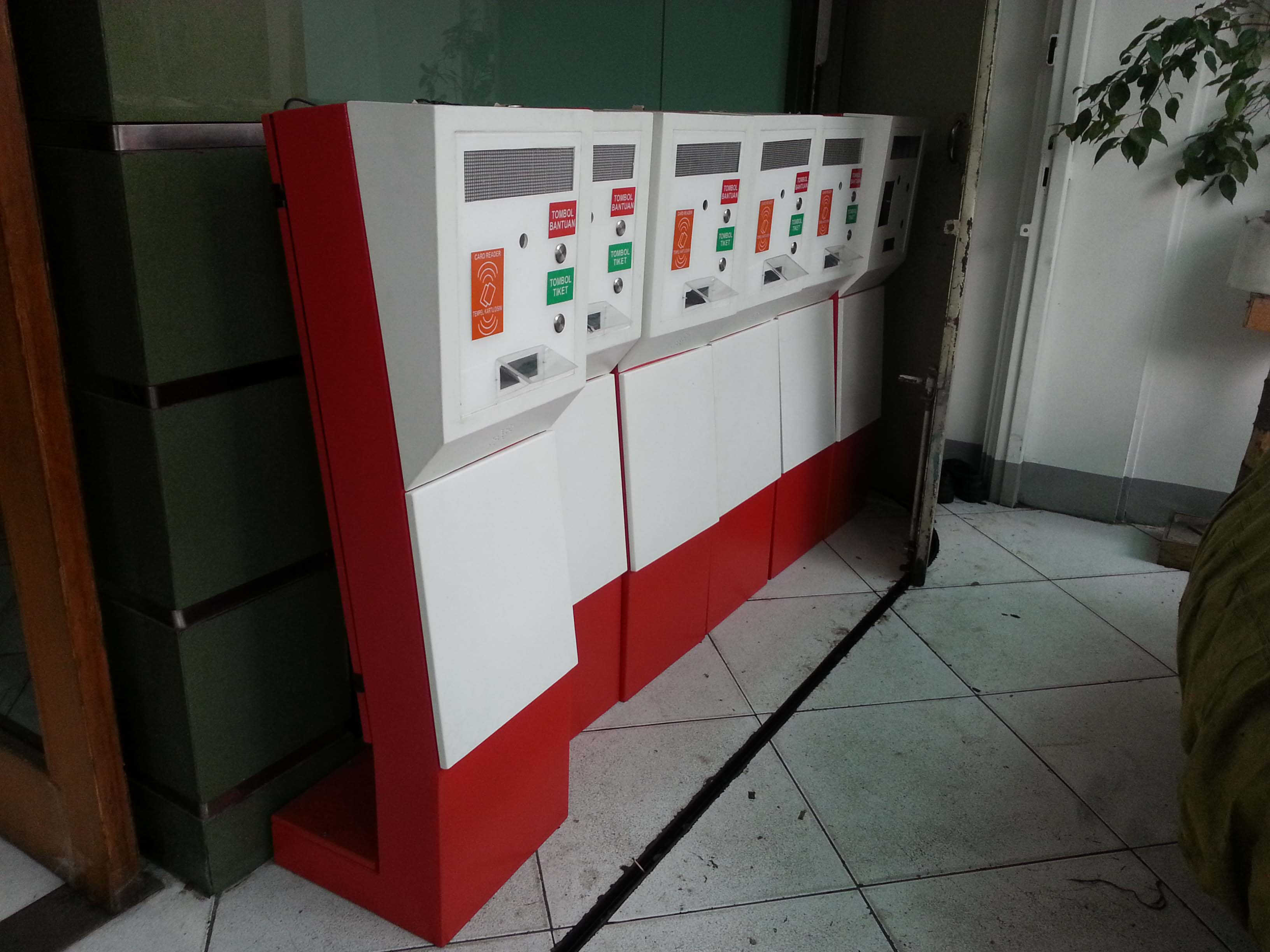 Ticket dispenser