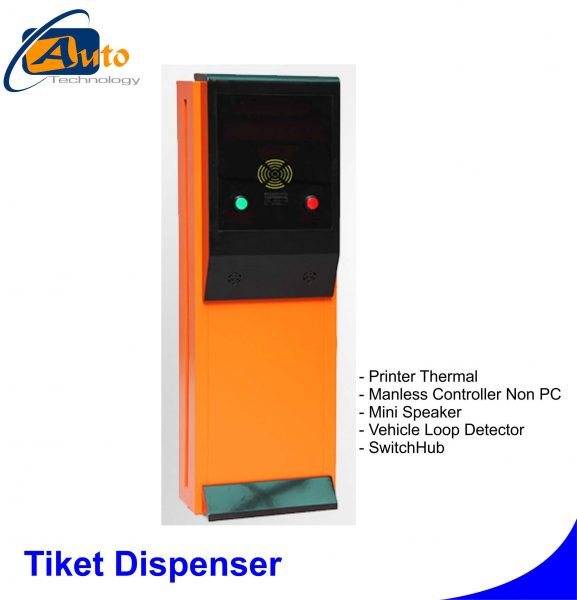 Jual Tiket Dispenser | Autotechnology